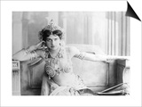 Mata Hari (1876-1917) 1905 (B/W Photo) Print by  Reutlinger Studio