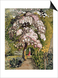 In a Shoreham Garden Art by Samuel Palmer