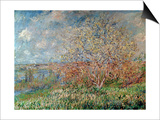 Spring, 1880-82 Prints by Claude Monet