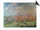 Spring, 1880-82 Láminas por Claude Monet