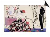 The Backless Dress Posters par Georges Barbier