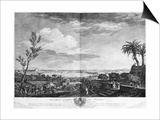 Port of Antibes in Provence, Series of 'Les Ports De France' Poster von Claude Joseph Vernet