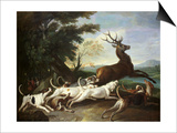 The Deer Hunt, 1718 Prints by Alexandre-Francois Desportes