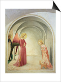 The Annunciation, 1442 Prints by  Fra Angelico