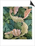"""Acanthus"" Wallpaper Design, 1875 Prints by William Morris"