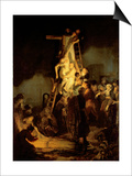 The Descent from the Cross Prints by  Rembrandt van Rijn