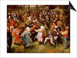 The Wedding Dance, C.1566 (Oil on Panel) Prints by Pieter Bruegel the Elder