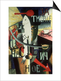 An Englishman in Moscow, 1913-14 Posters by Kasimir Malevich