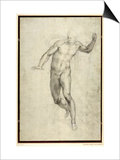 Study for The Last Judgement Prints by  Michelangelo Buonarroti