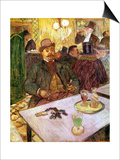 Monsieur Boileau, circa 1893 Posters by Henri de Toulouse-Lautrec