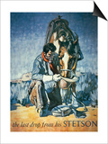 The Last Drop from His Stetson (Colour Litho) Posters by  American
