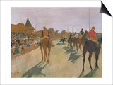 The Parade, or Race Horses in Front of the Stands, circa 1866-68 Prints by Edgar Degas