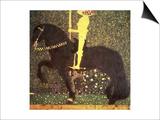 The Golden Knight, 1903 Prints by Gustav Klimt