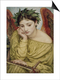 Erato, Muse of Poetry, 1870 (W/C on Paper) Prints by Edward John Poynter