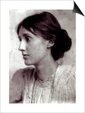 George Charles Beresford - Virginia Woolf, 1902 - Poster