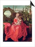 "Virgin and Child ""Madonna with the Iris,"" 1508 Prints by Albrecht Dürer"