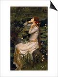 Ophelia, 1894 Prints by John William Waterhouse