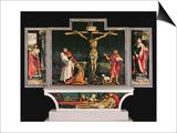 The Isenheim Altarpiece, circa 1512-15 Posters af Matthias Grünewald