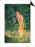 Midsummer Eve Posters av Edward Robert Hughes
