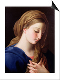 The Virgin Annunciate Plakat af Pompeo Batoni