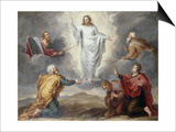 The Transfiguration Print by Pieter Ykens