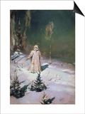 Snow Maiden, 1899 Prints by Victor Mikhailovich Vasnetsov
