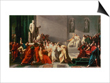 Death of Julius Caesar Posters by Vincenzo Camuccini