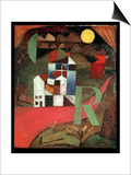 Villa R, 1919 Posters by Paul Klee