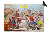 The Cow Pock or the Wonderful Effects of the New Inoculation, Published by H.Humphrey, 1809 Posters by James Gillray