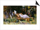 An Afternoon Nap Prints by Harry Mitten Wilson