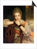 Mrs. Abington, 1771 Prints by Sir Joshua Reynolds