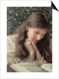 Idle Tears Posters by Edward Robert Hughes