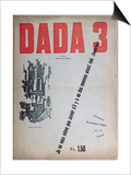 Revue Dada No.3, December 1918 (Colour Litho) Poster by  French