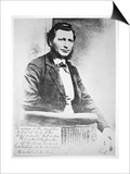 Louis Riel Prints by  Canadian Photographer