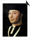 Portrait of an Unknown Man Plakat af  Antonello da Messina