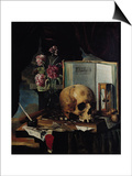 Vanitas Prints by Simon Renard De Saint-andre
