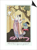 Have You Had a Good Dinner, Jacquot', 1919 Posters by Georges Barbier