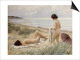 Summer on the Beach Prints by Paul Fischer