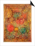 Spiral Flowers, 1926 Kunst von Paul Klee