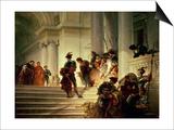 Cesare Borgia Leaving the Vatican Posters by Giuseppe-lorenzo Gatteri