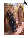 Mary Magdalene at the Sepulchre Art by Harold Copping