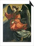 Archangel Gabriel of the Annunciation Poster by Lucrina Fetti