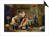Surgeon Tending the Foot of an Old Man Print by David Teniers the Younger