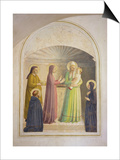 The Presentation in the Temple, 1442 Prints by  Fra Angelico
