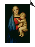 The Grand Duke's Madonna, circa 1504-05 Posters par  Raphael