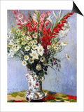 Vase of Flowers, 1878 Posters by Claude Monet