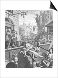 Gin Lane, 1751 Prints by William Hogarth