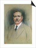 Portrait of Sir Arthur Conan Doyle, 20th Century Prints by William Henry Gates