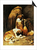 The Faith of St. Bernard Prints by John Emms