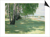 The Garden of the Artist in Wannsee, 1918 Prints by Max Liebermann